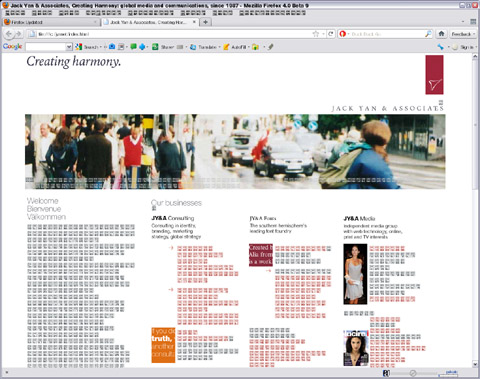 Firefox 4 Beta 9 display